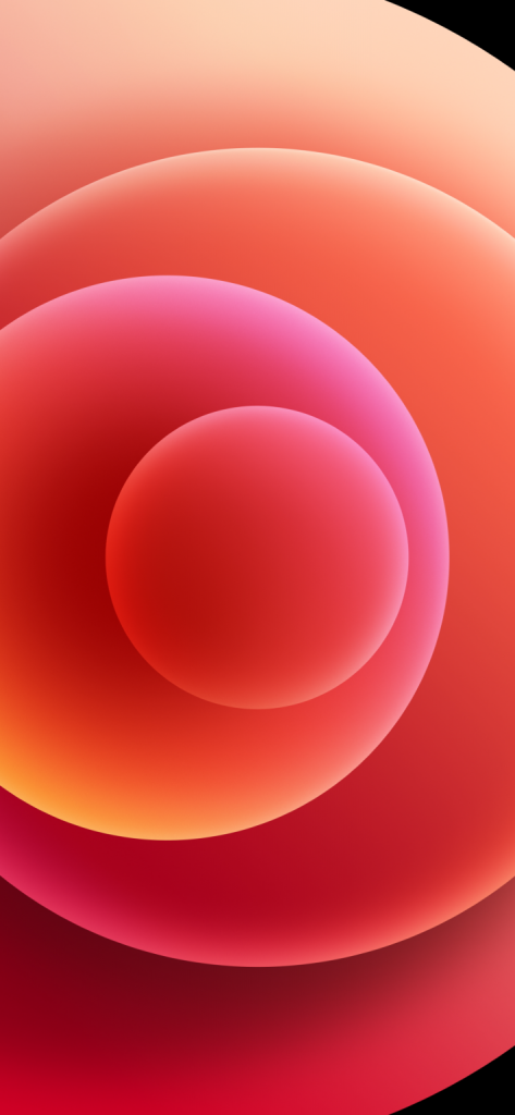 iPhone 12 red light wallpaper