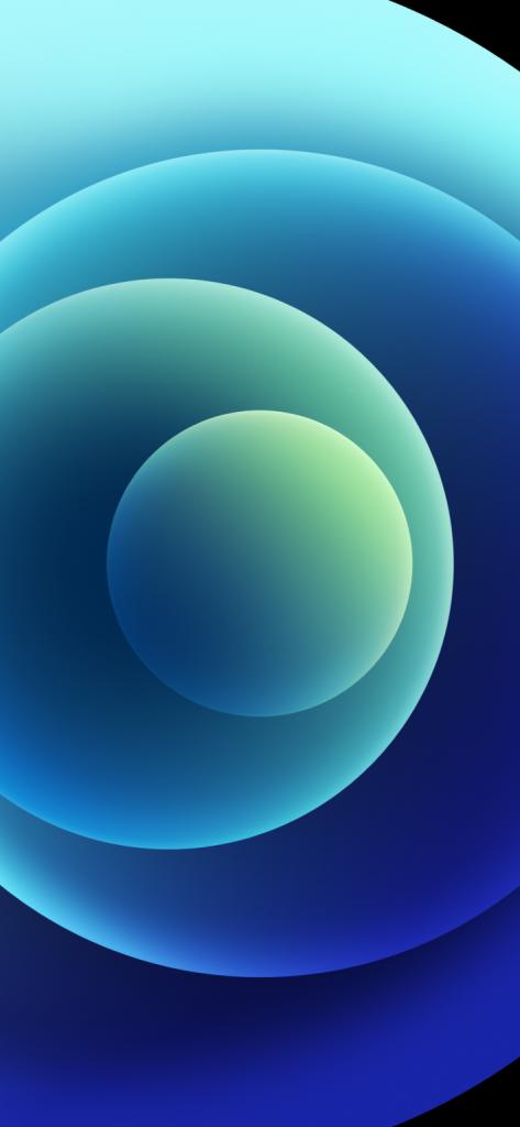 iPhone blue light wallpaper