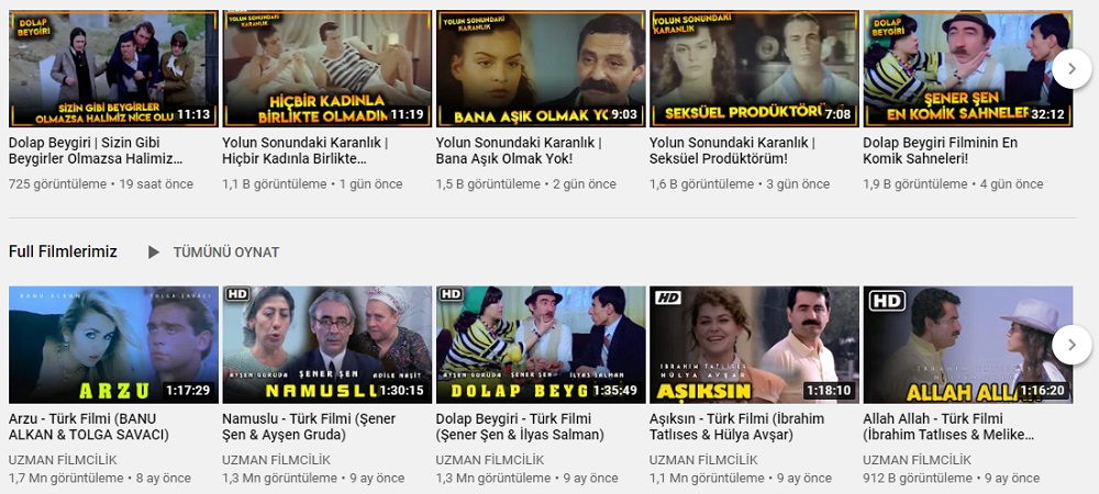 film indirme siteleri youtube