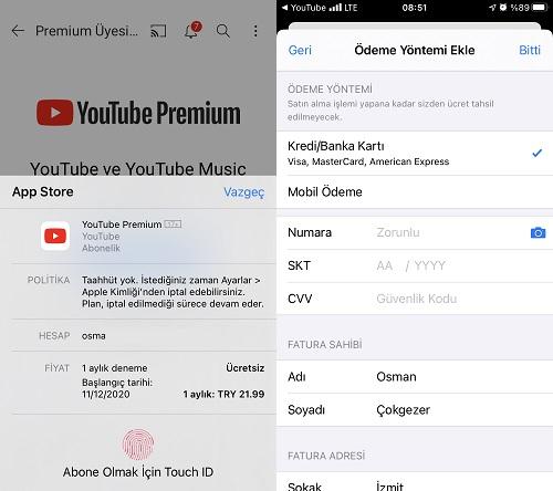youtube premium satin alma 2