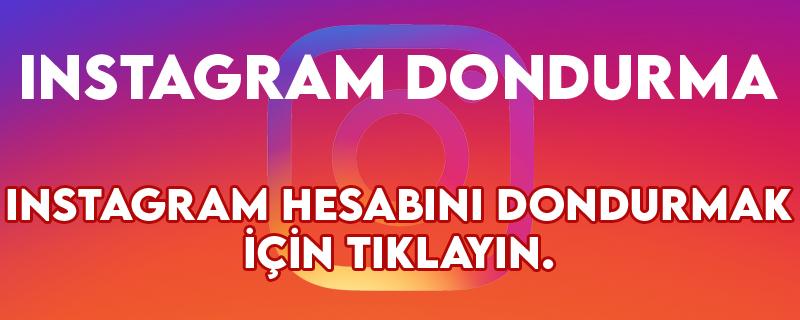 instagram dondurma linki