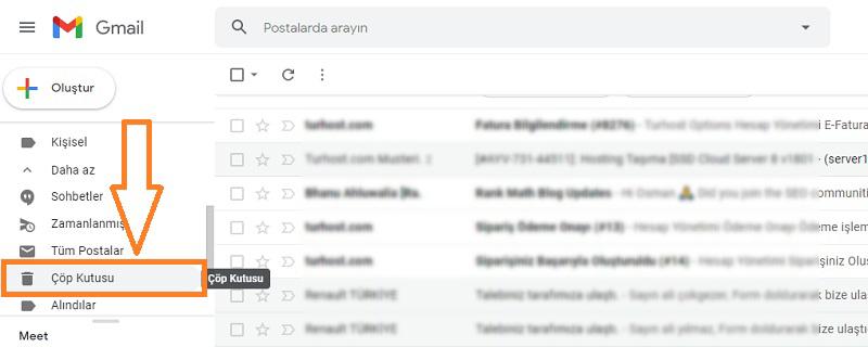 silinen mailleri geri getirme gmail 2