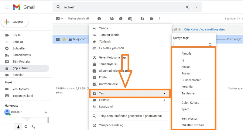 silinen mailleri geri getirme gmail 4