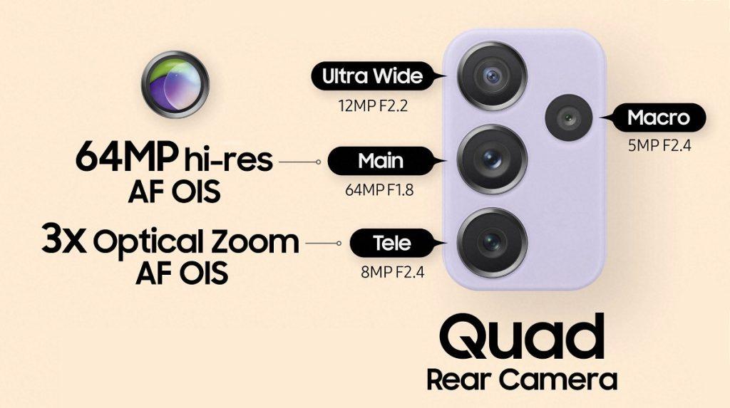 galaxy a72 kamera