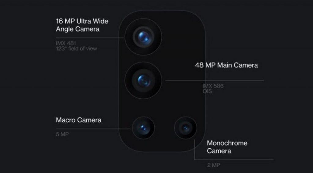 oneplus 9r kamera