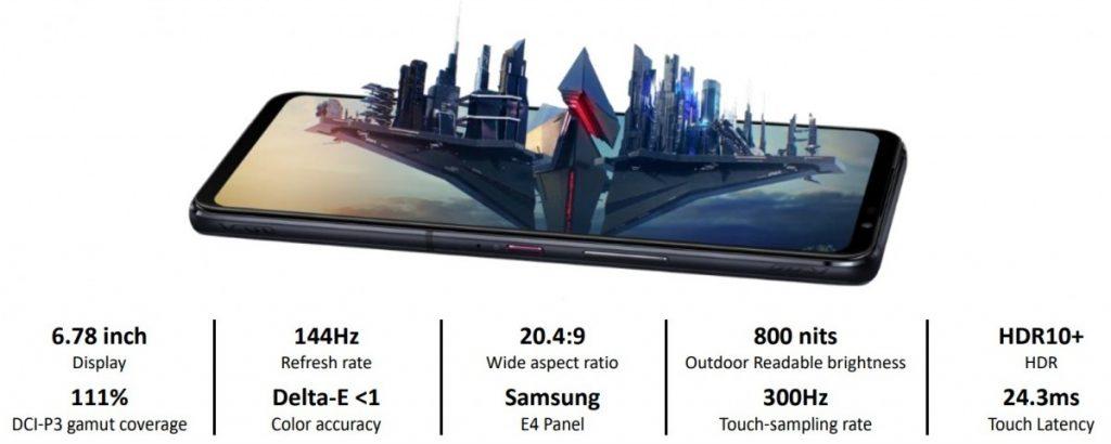 rog phone 5 ekran ozellikleri