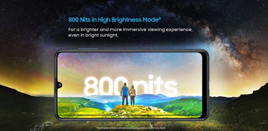 galaxy m32 ekran