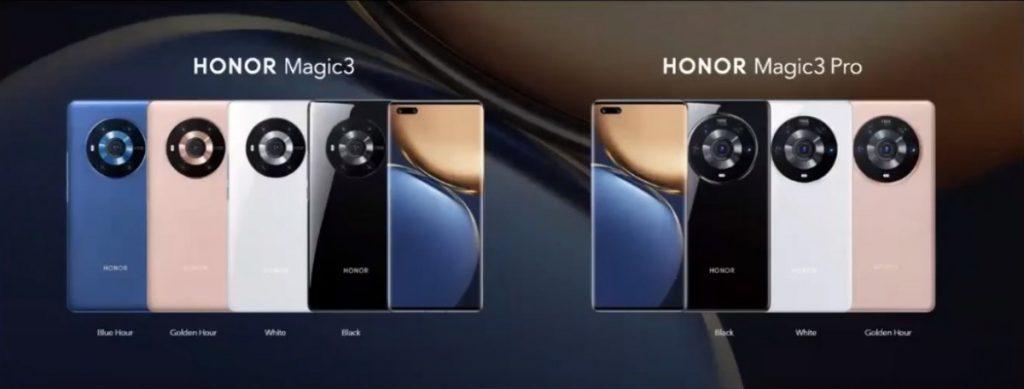 honor magic3 renkler