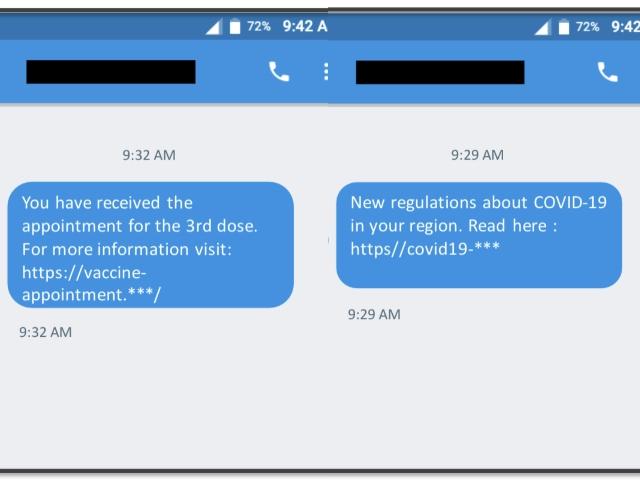 cloudmark TangleBot android malware covid 19